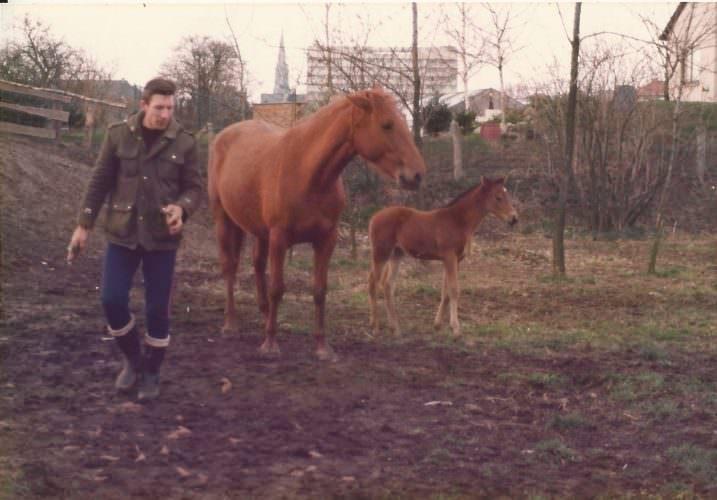 Norbert Jester mit Carmen und Cora