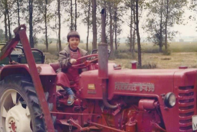 Jürgen (ich) im Juni 1978