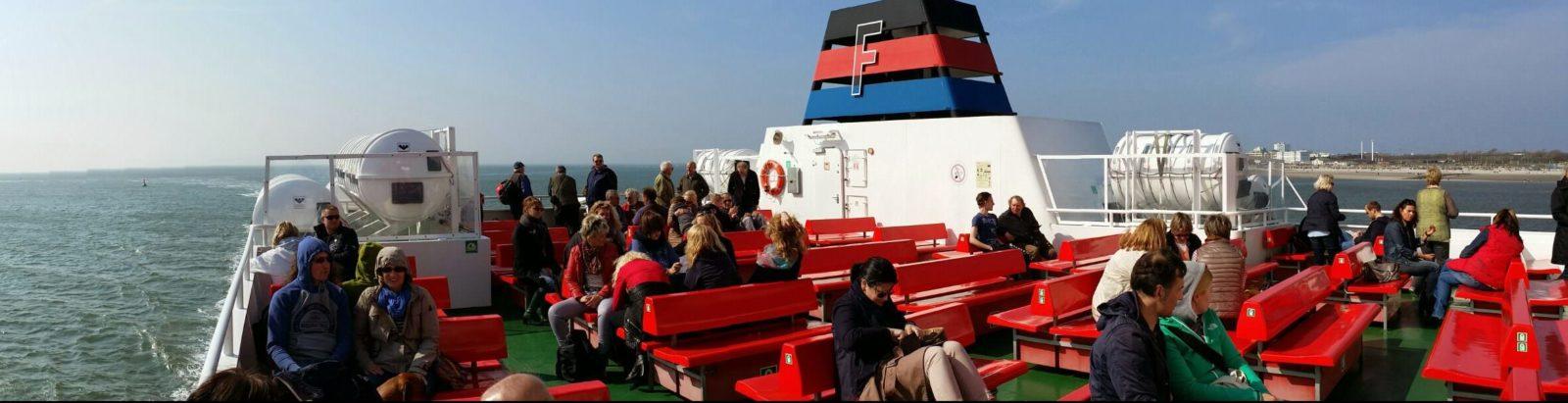 Auf der Faehre nach Norderney