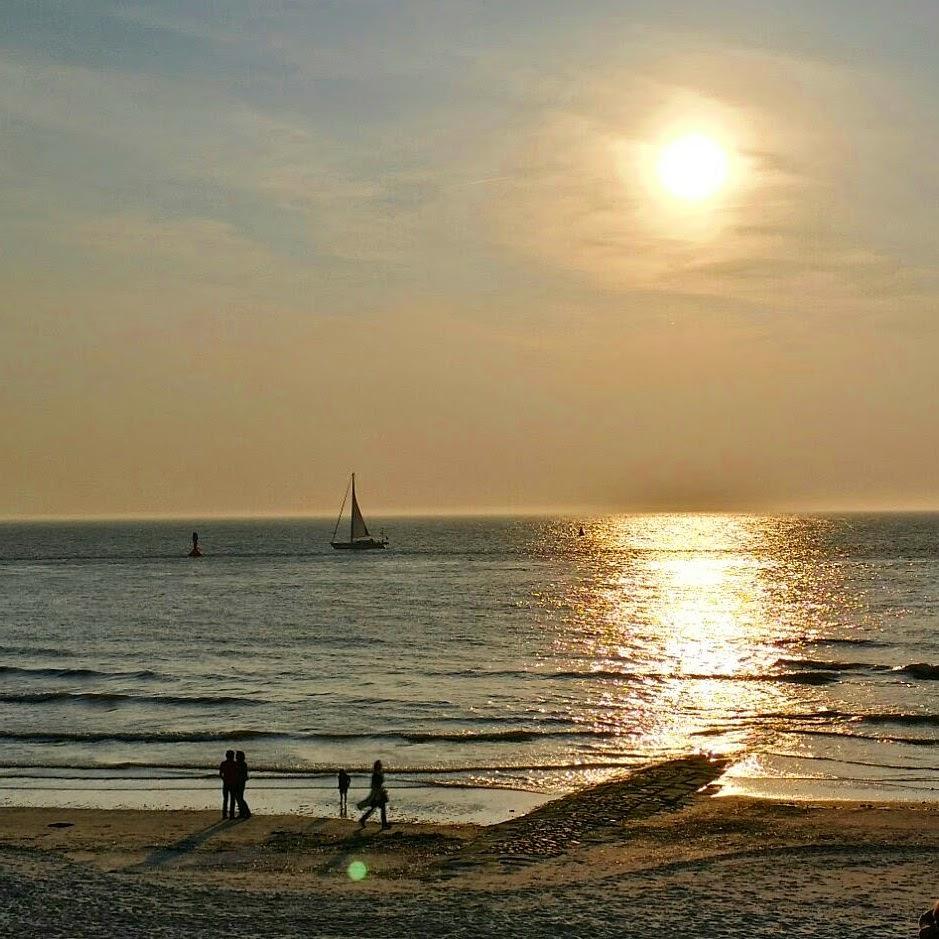Sonnenuntergang auf Norderney (2)