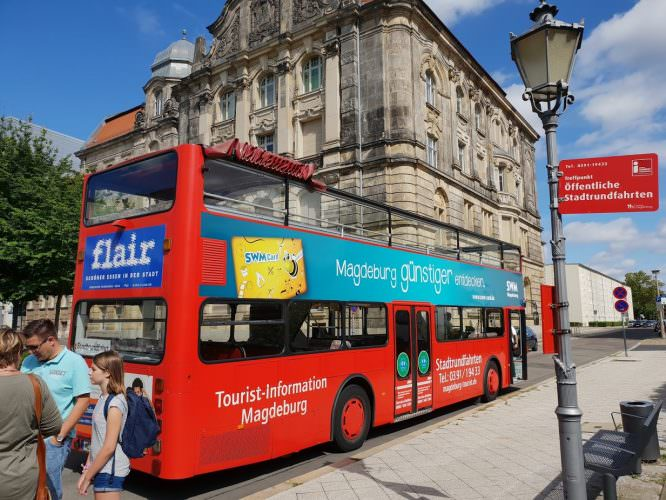 Stadtrundfahrt im Bus