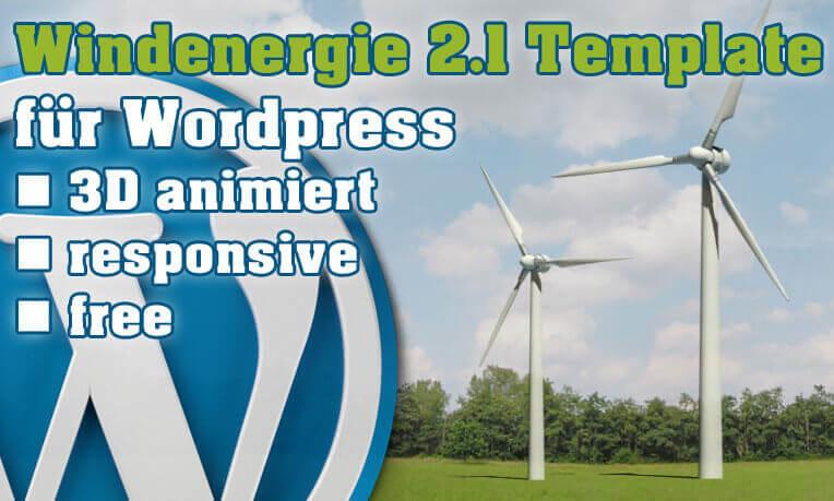 Windenergie Template