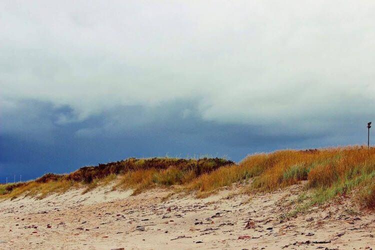 Am Strand auf Helgoland