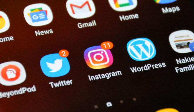 Twitter und Instagram