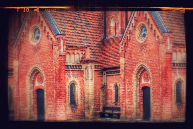 3D Kirche für den Parallelblick