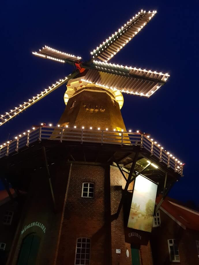 Mühlengalerie in Ostgroßefehn zur Weihnachtszeit