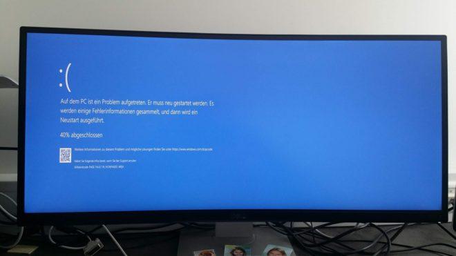 Windows 10 Bluescreen BSOD