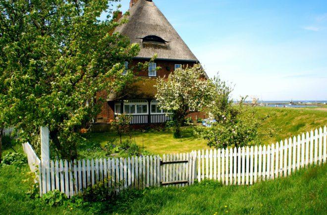 Altes Bauernhaus auf Amrum