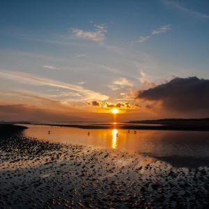 Atemberaubende Sonnenuntergänge (Die Nordseeinsel Wangerooge)