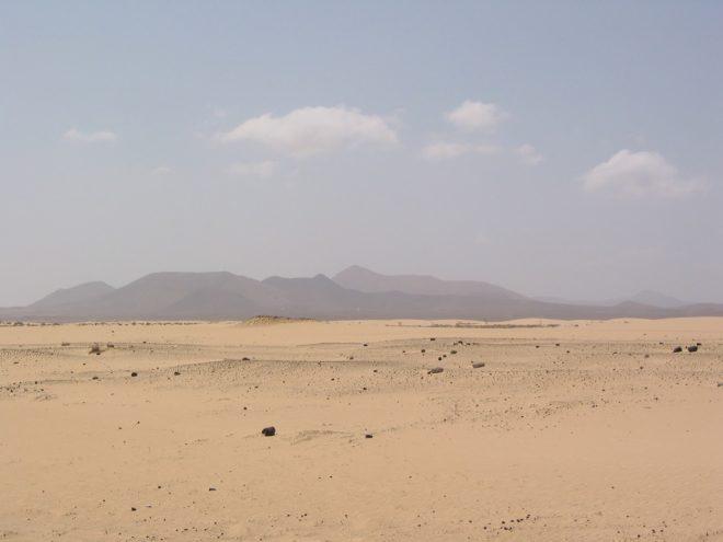 eine Wüste in Spanien