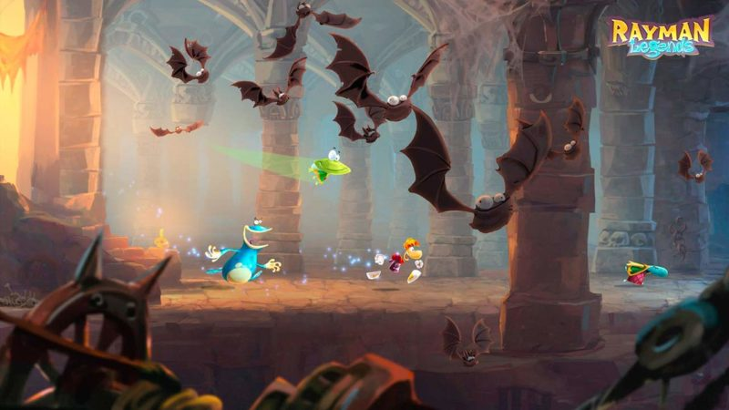 Rayman Legends auf der Sony Playstation 4