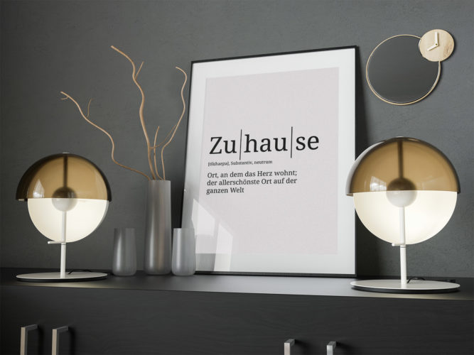 Zuhause in der Definition