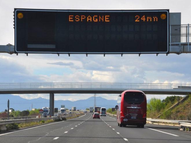 AP7 nach Spanien