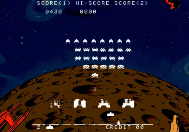 Space Invaders Arcade Version