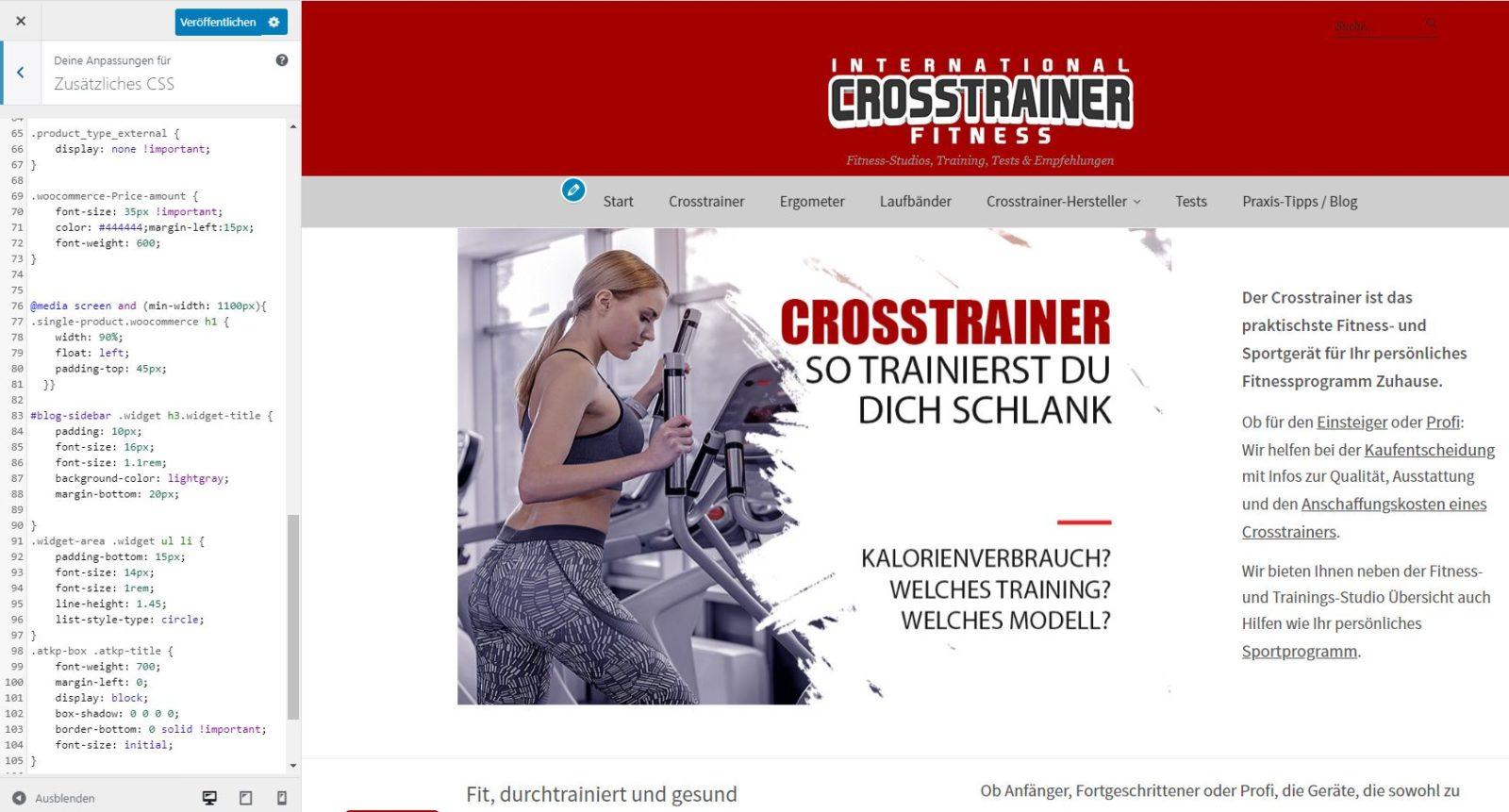Wordpress Custom CSS
