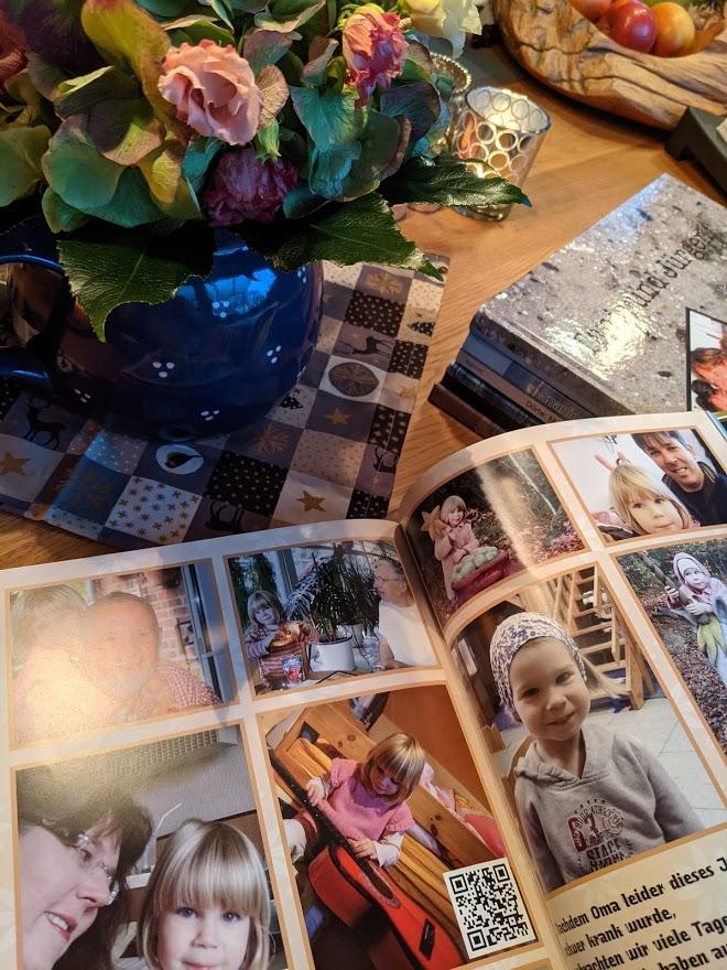 Fotobuch mit QR Code