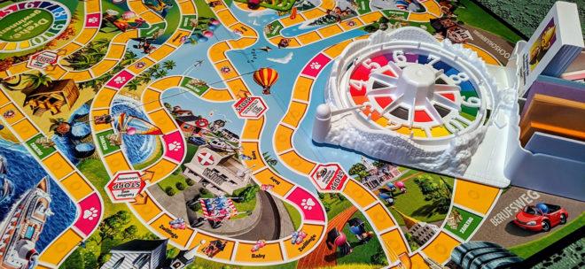 Spiel des Lebens: das Spielfeld