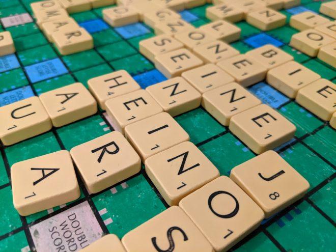 Scrabble spielen
