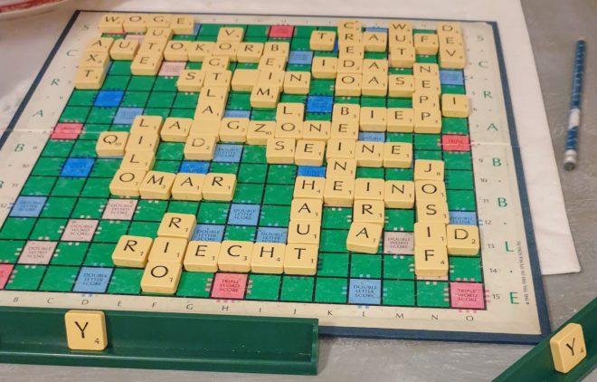 Sehr altes Scrabble Spiel
