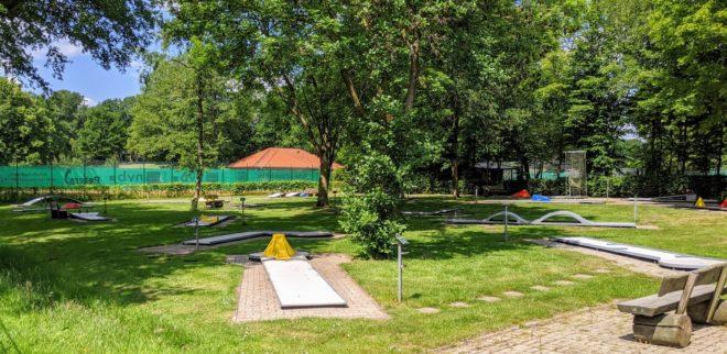 Minigolf-Anlage beim Waldbad