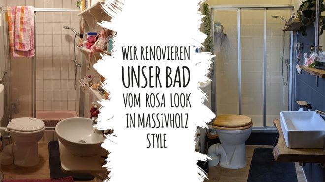 Badezimmer-Renovierung